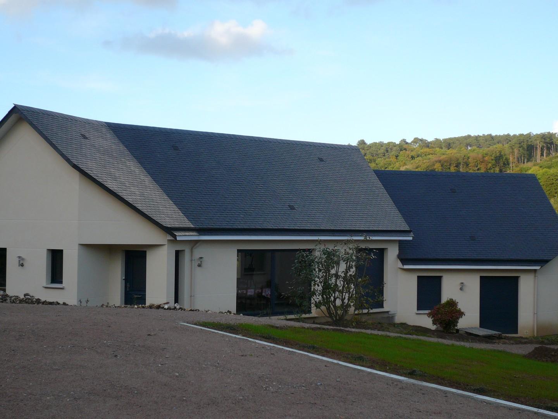 Maison neuve yvetot maison moderne for Maison moderne neuve